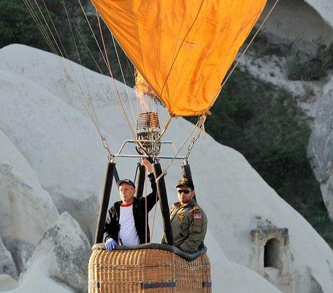 La Cappadoce : Le pays des ballons à air chaud